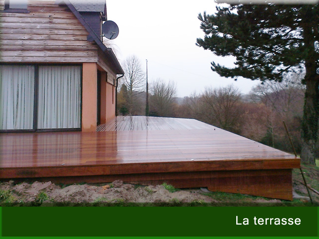 Philippe Aubert Terrasse Bois, Beton Désactivé, Pavés | Parc Et